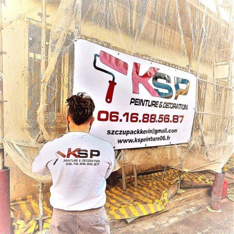 Photo de Kevin de dos patron KSP peinture 06