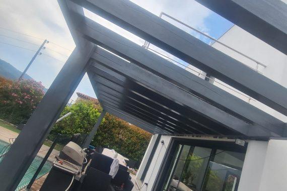 Rénovation armature extérieure maison terrasse