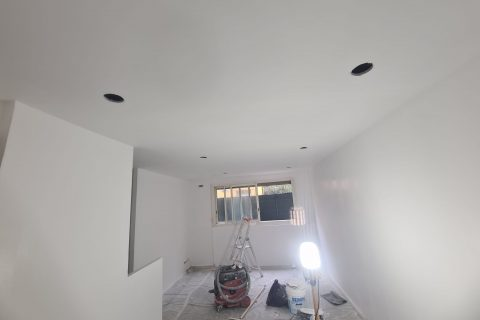 Rénovation peinture complète studio